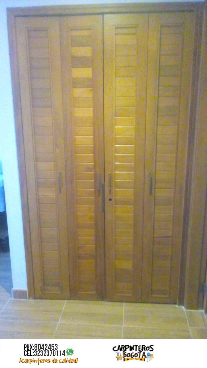 fabrica de puertas y closets bogota carpinteros bogota On fabricas de closet en bogota